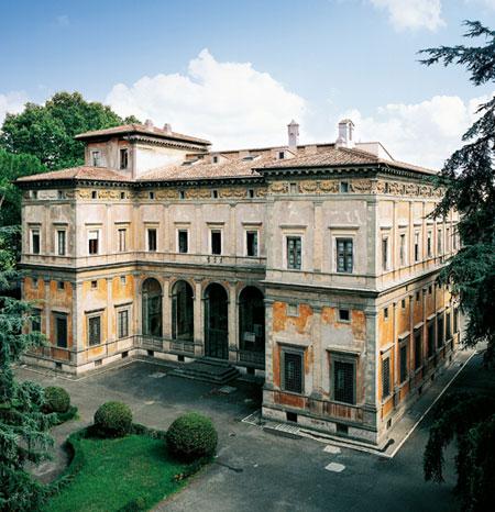 La Villa Farnesina A Roma 171 Mirabilia Italiae Franco